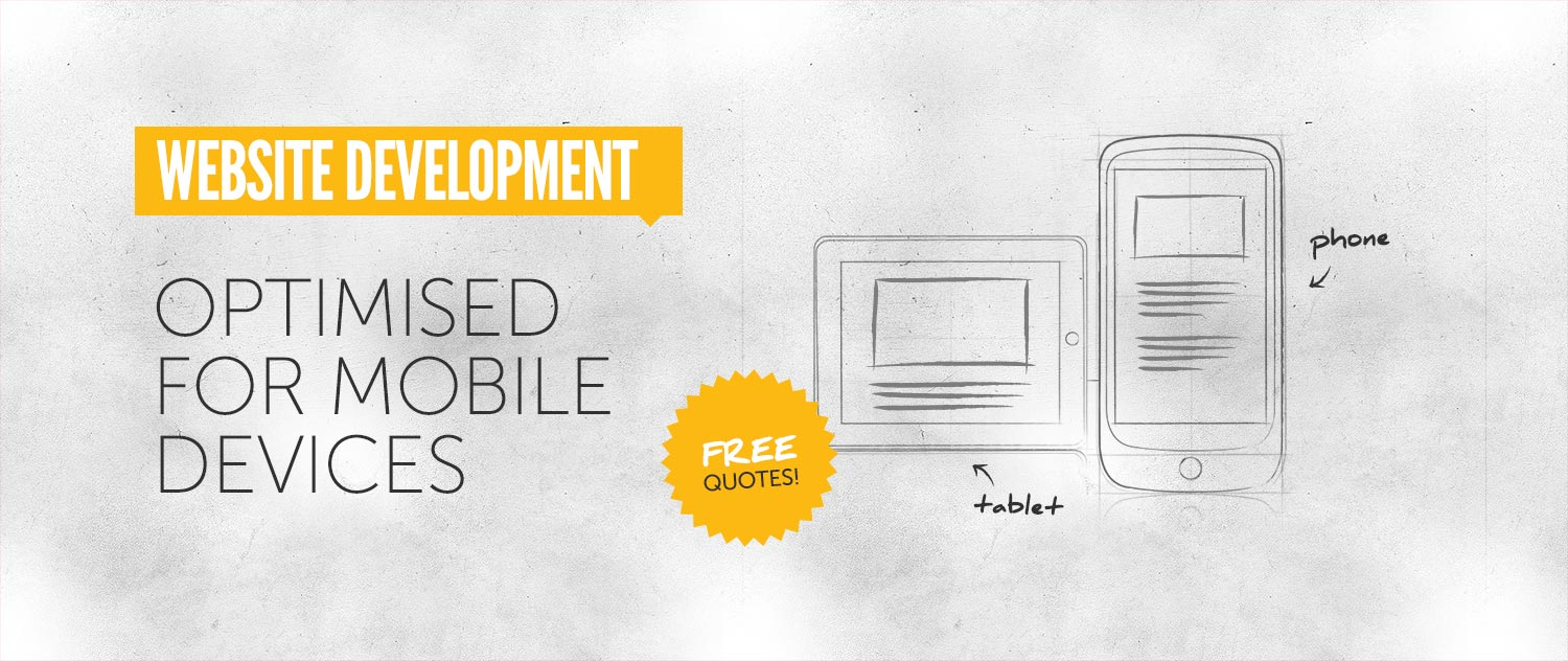 Web Development: optimised for mobile devices